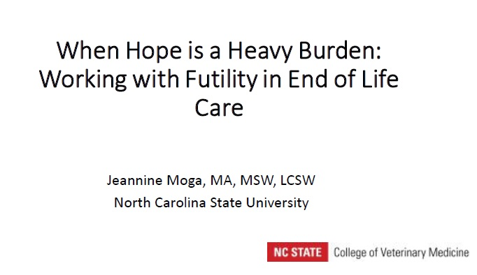When Hope is a Heavy Burden