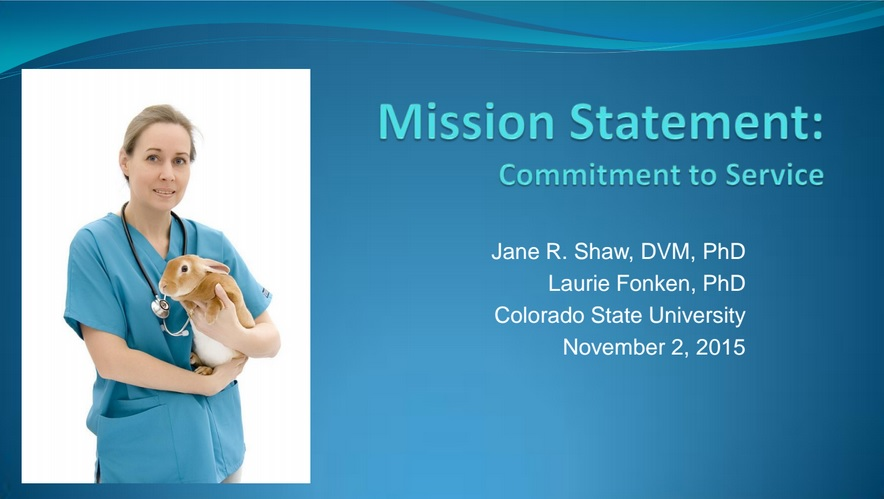 J Shaw L Fonken Mission Statement