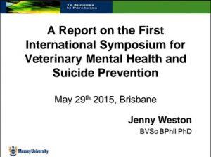 J Weston A Report on the 1st International Symposium